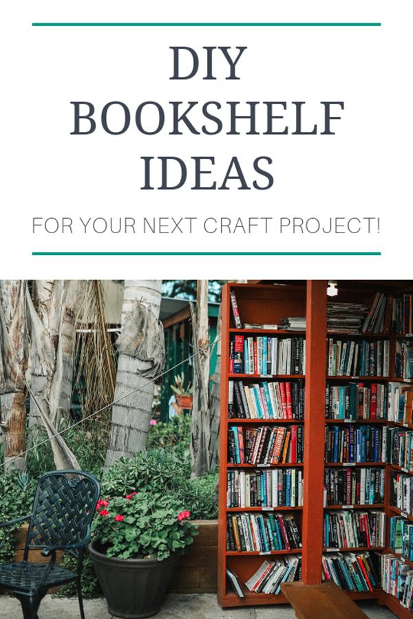 Diy Bookshelf Here Are 12 Easy Diy Bookshelf Ideas For Booklovers