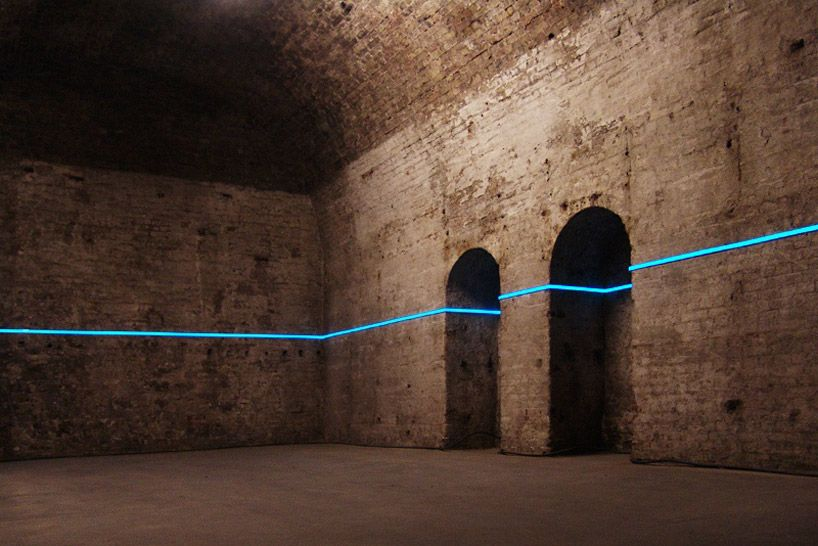 hans kotter: light boxes and point of view #lightartinstallation