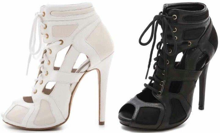 Tie heels