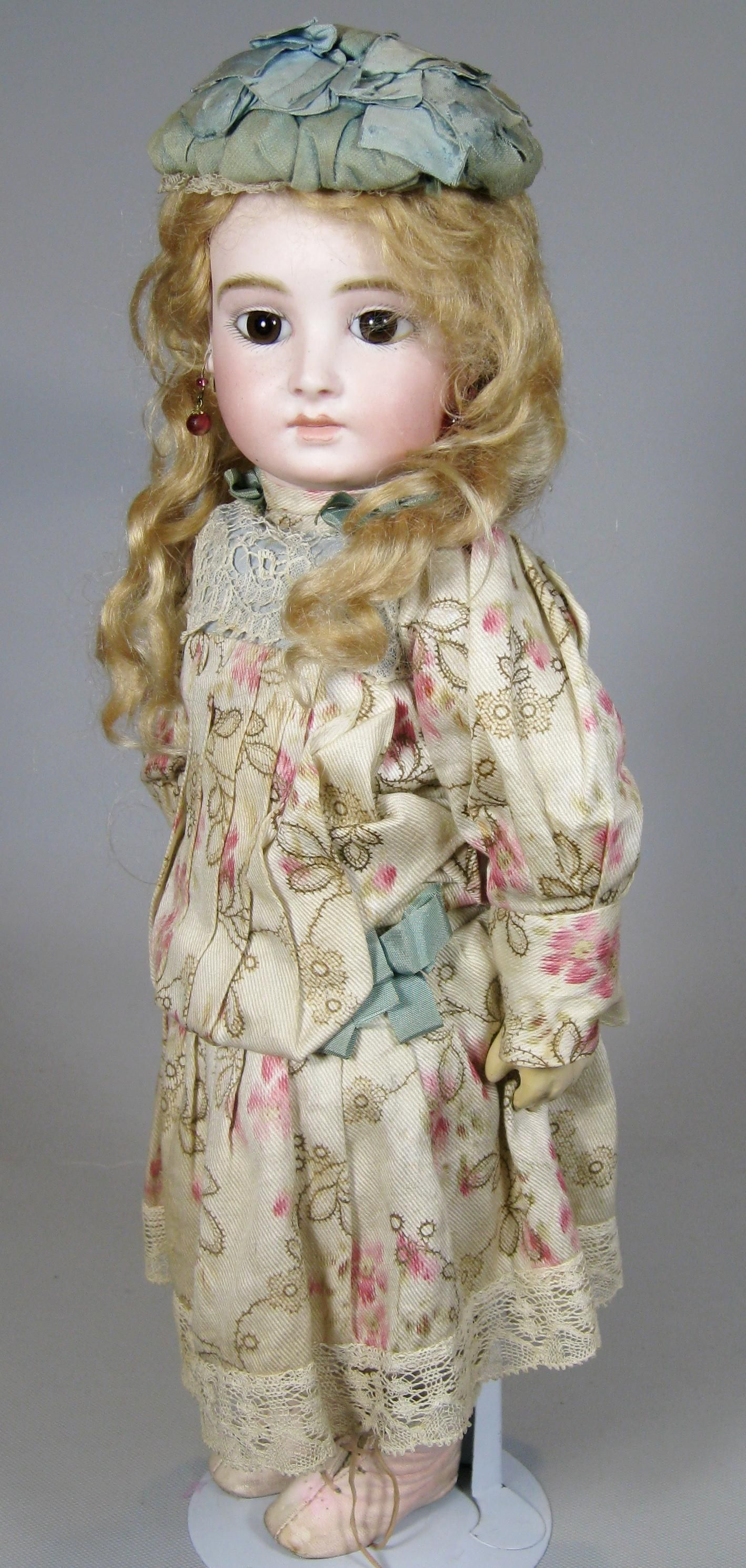 Rare French Halopeau Closed Mouth Bebe ~ UFDC Blue Ribbon Winner 2015 from victoriasdollhouse on Ruby Lane