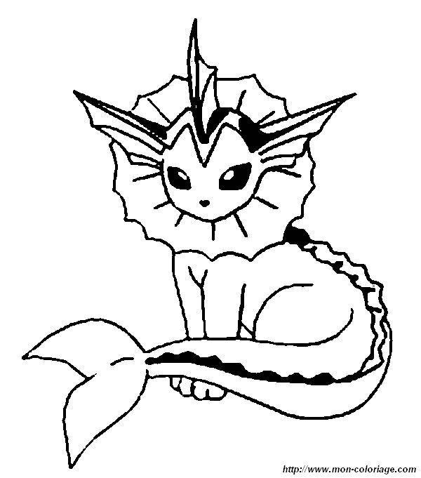 Ausmalbilder Aquana 01 | ausmalbilder | Pinterest | Pokémon