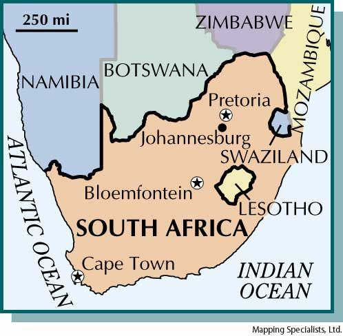 South Africa Has Three Capitals There Is Three Capitals Because - What is the capital of south africa