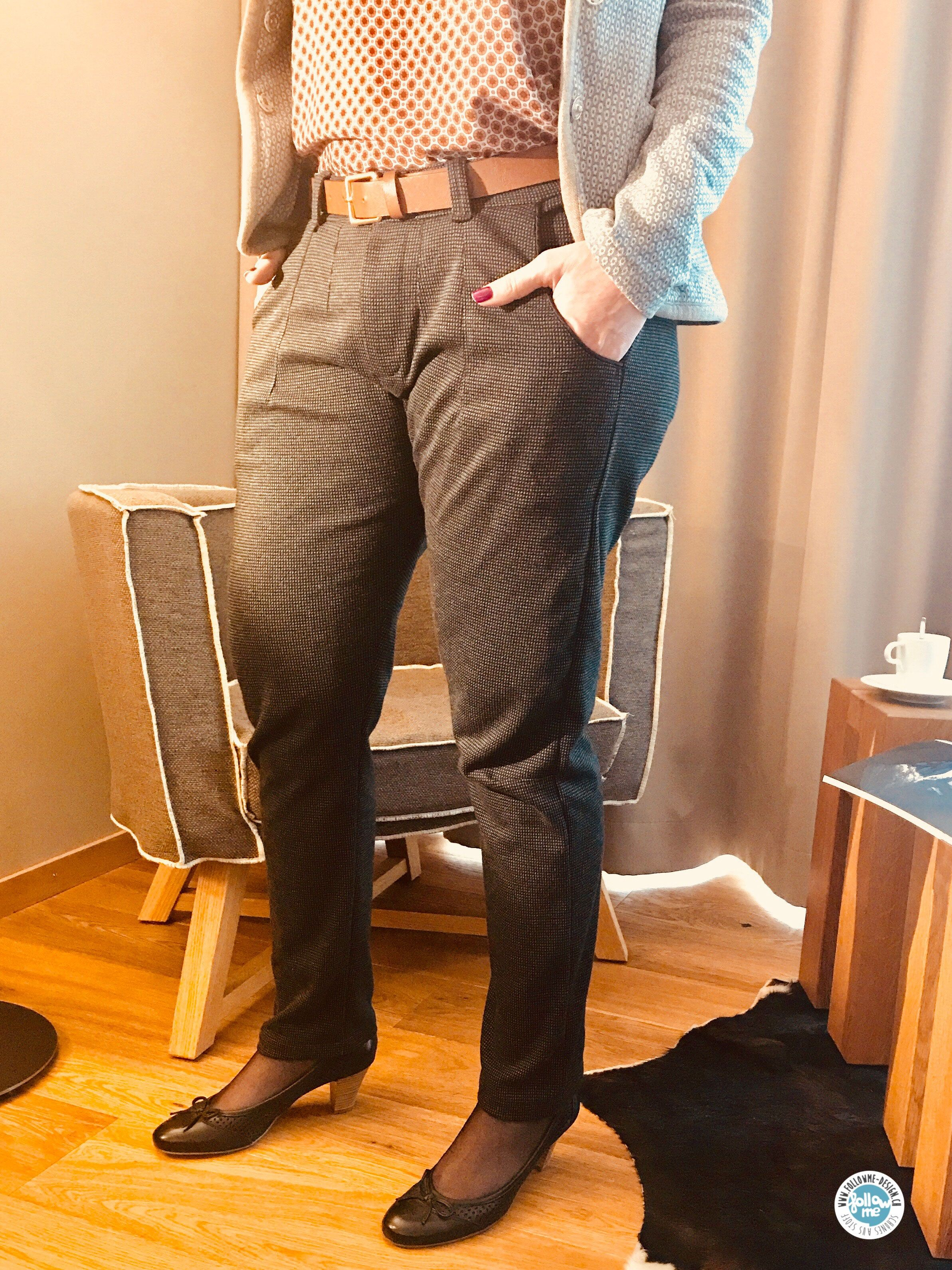 Hose Norma Jill - Tapered Fit Pant Schnittmuster und ausführliche ...