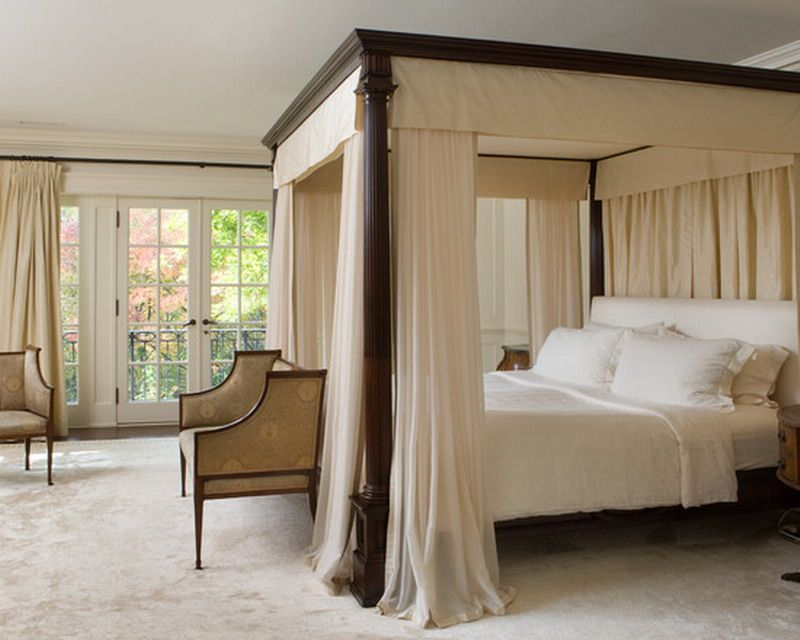 Custom Canopy Bed Ideas for Classic Bedroom Decorating ...