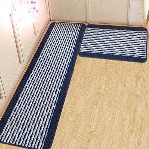 amazon : ustide kitchen rug set, kitchen floor rug washable