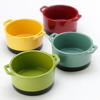 Bobby Flay Stoneware 4 Pc Ramekin Set Kitchen Must Haves Stoneware Fun Cooking