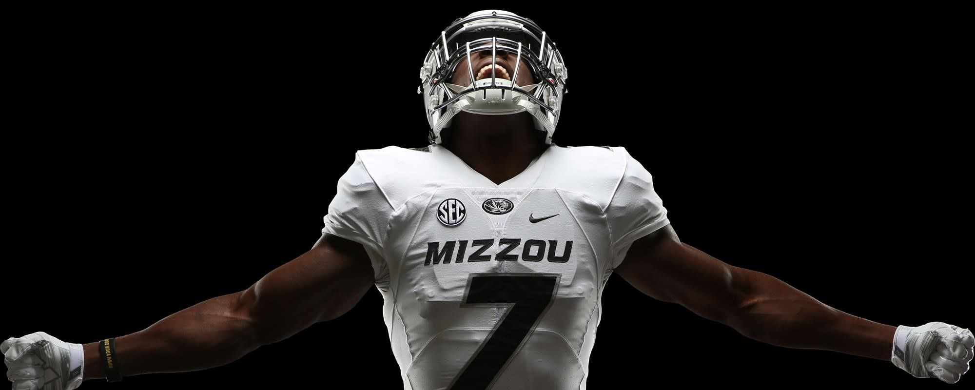 11801e214bb Mizzou Uniform Reveal for Arrowhead Game