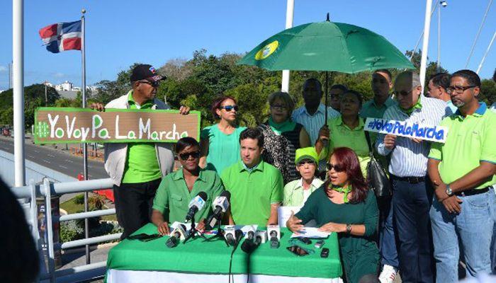 Organizadores de marcha contra impunidad no quieren políticos participen