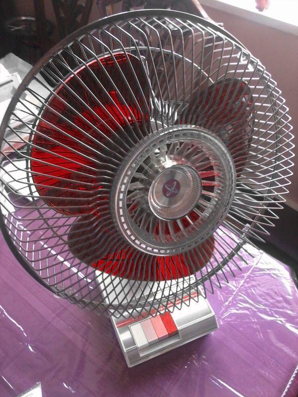 Rare Red Blade Sears Lasko 12 Inch Desk Fan Desk Fan Modern Fan