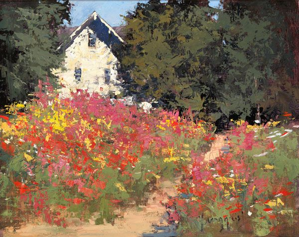 Painting Inspiration Romona Youngquist Summer Cottage