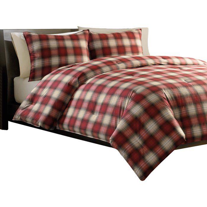 bauer plaid alder set eddie ca pdp bath wayfair comforter cotton bed reviews