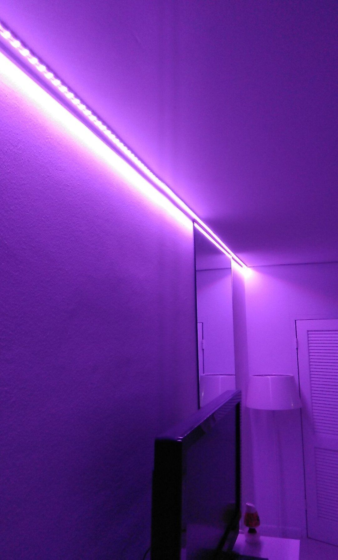 Led Strip Light For Your Roof Beuty In 2020 Led Strip Lights Bedroom Led Lighting Bedroom Led Room Lighting