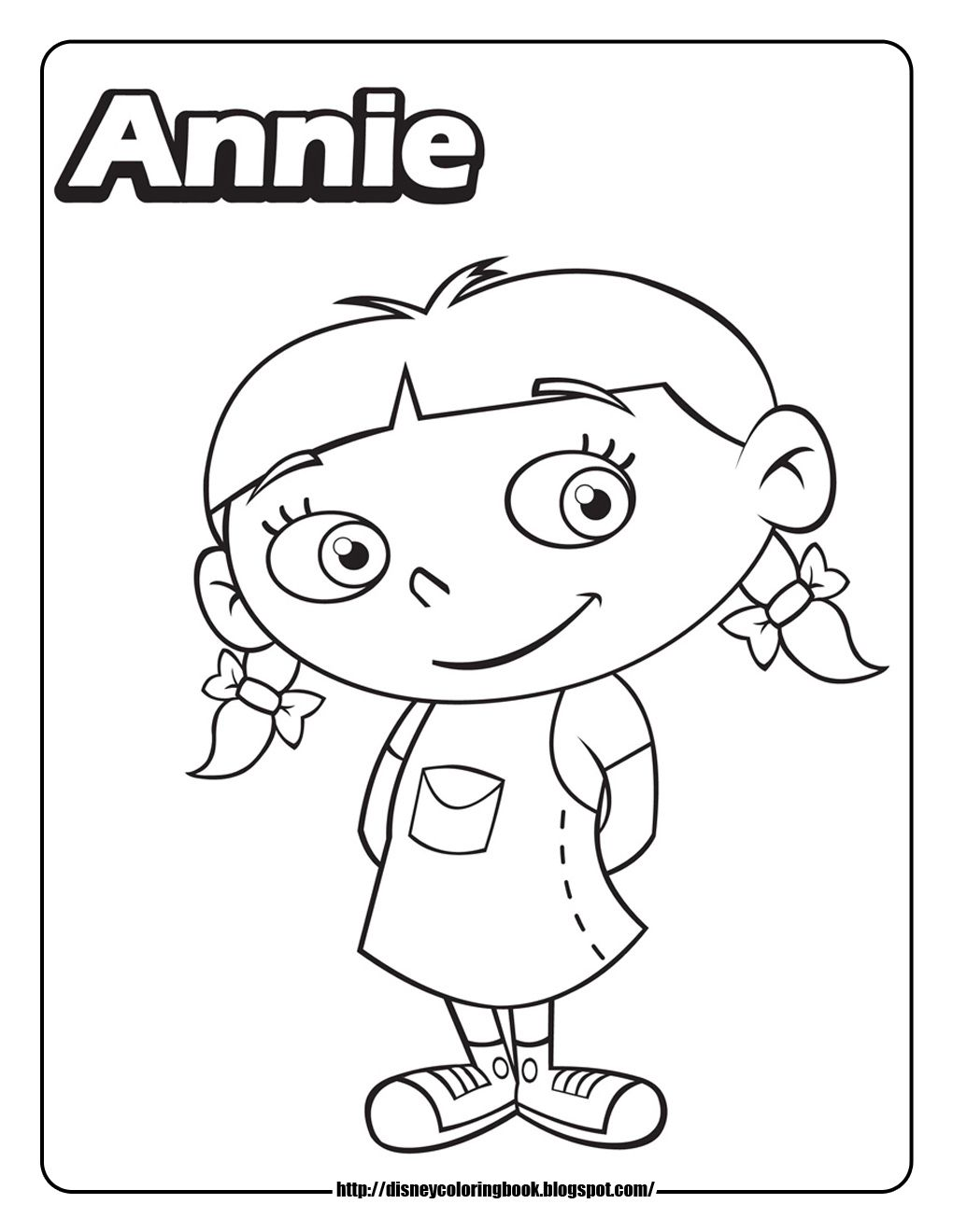little einsteins coloring pages annie coloring pages Pinterest