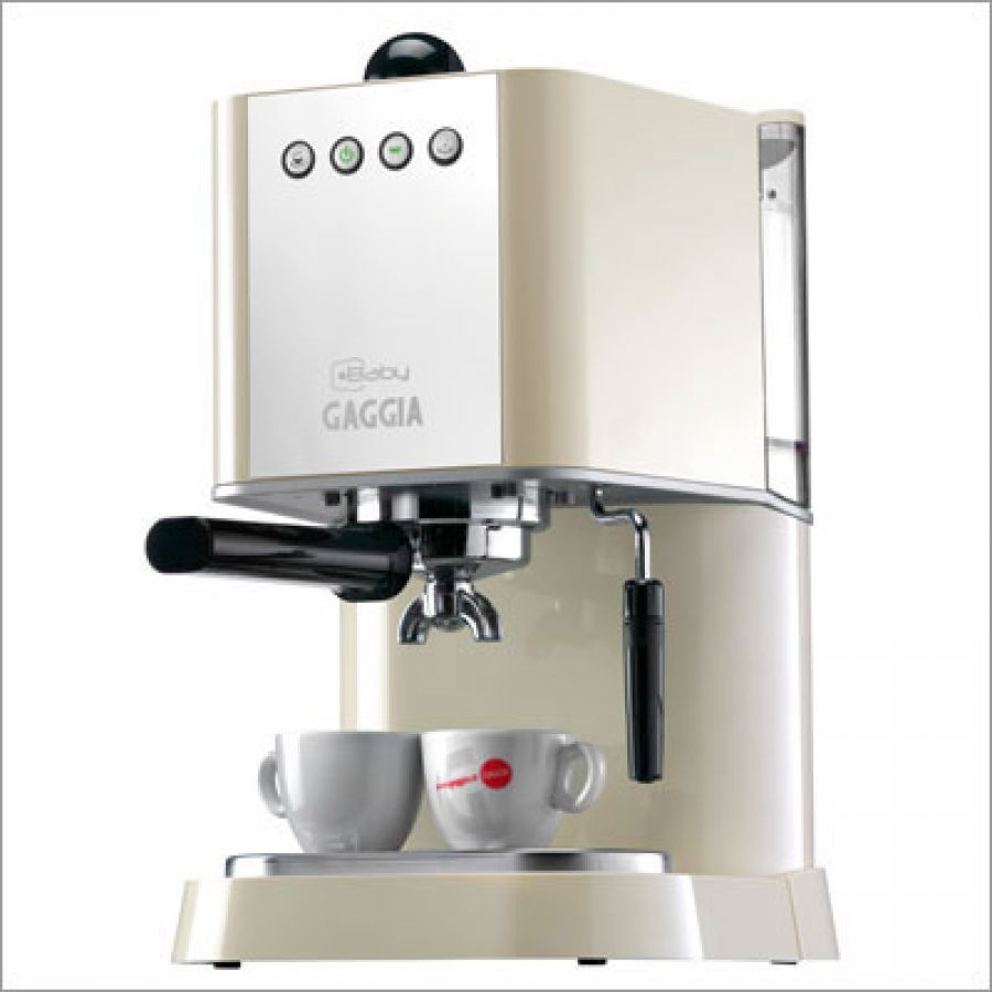 Gaggia New Baby Espresso Machine - Traditional with modern character ...