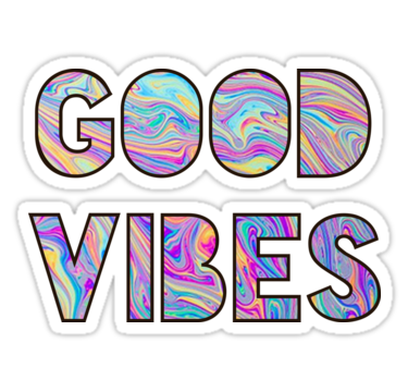 Aesthetic Stickers Good Vibes