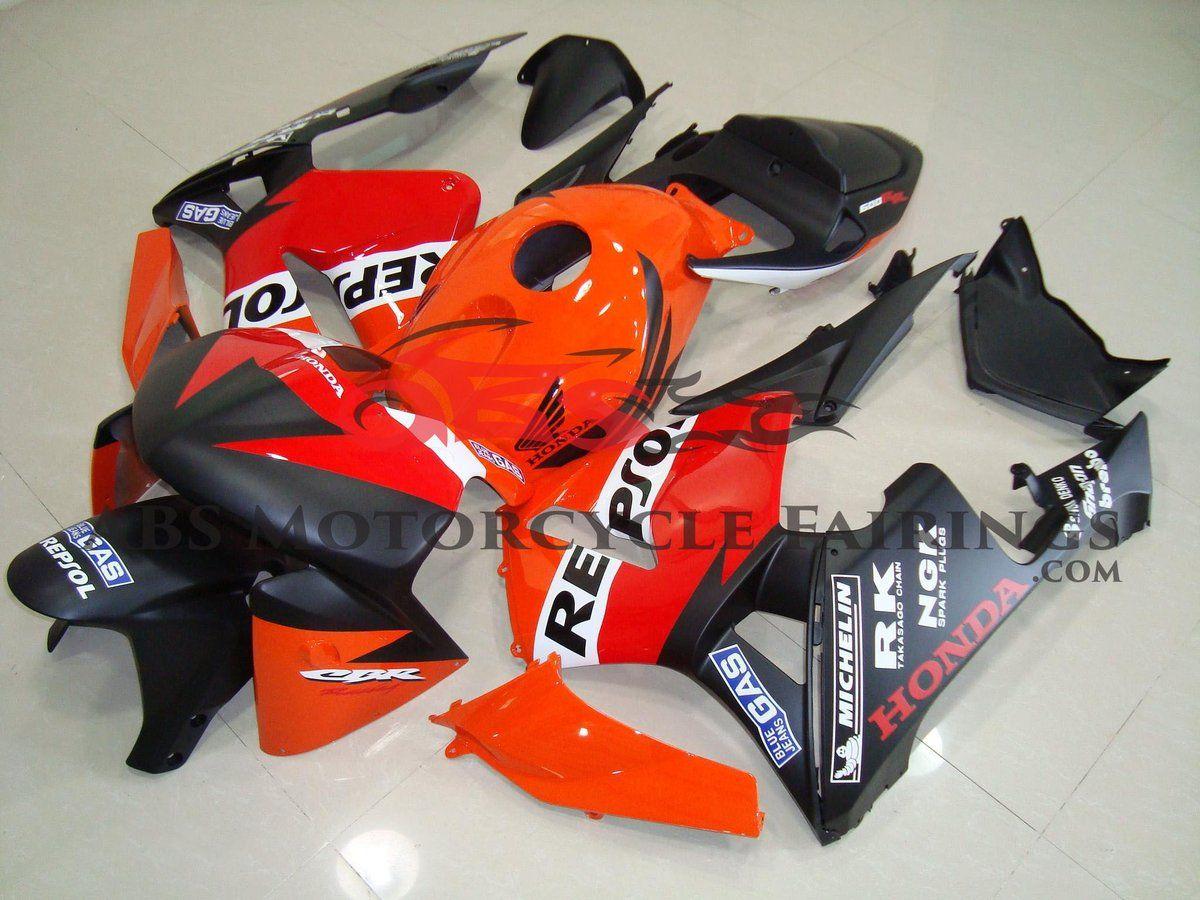 Matte Black Repsol Race 2005 2006 Honda Cbr600rr Honda Cbr600rr