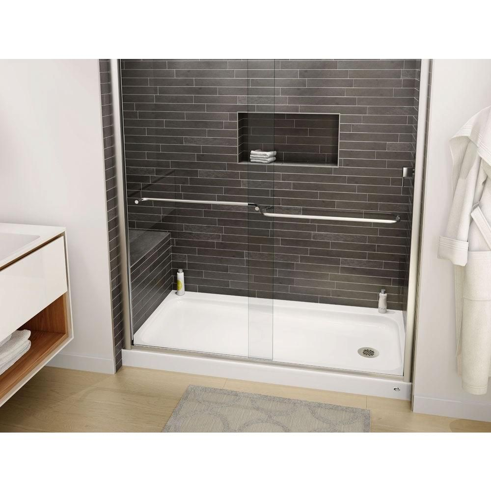 Bootz Industries Showercast Plus 60 In X 32 In Single Threshold