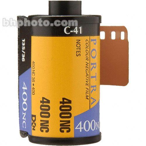Kodak Portra-400NC 135-36 Professional Color Print Film 1200419