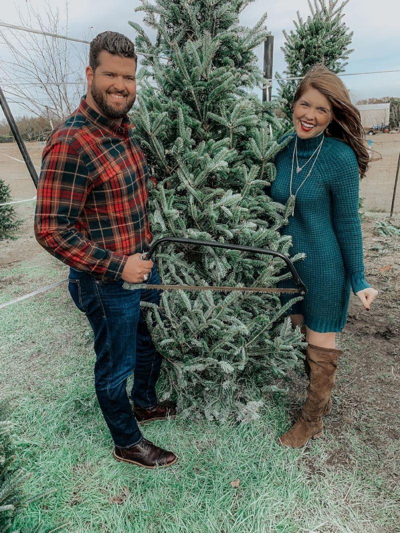 Where To Cut Down Our Own Christmas Tree Near Dallas Chop