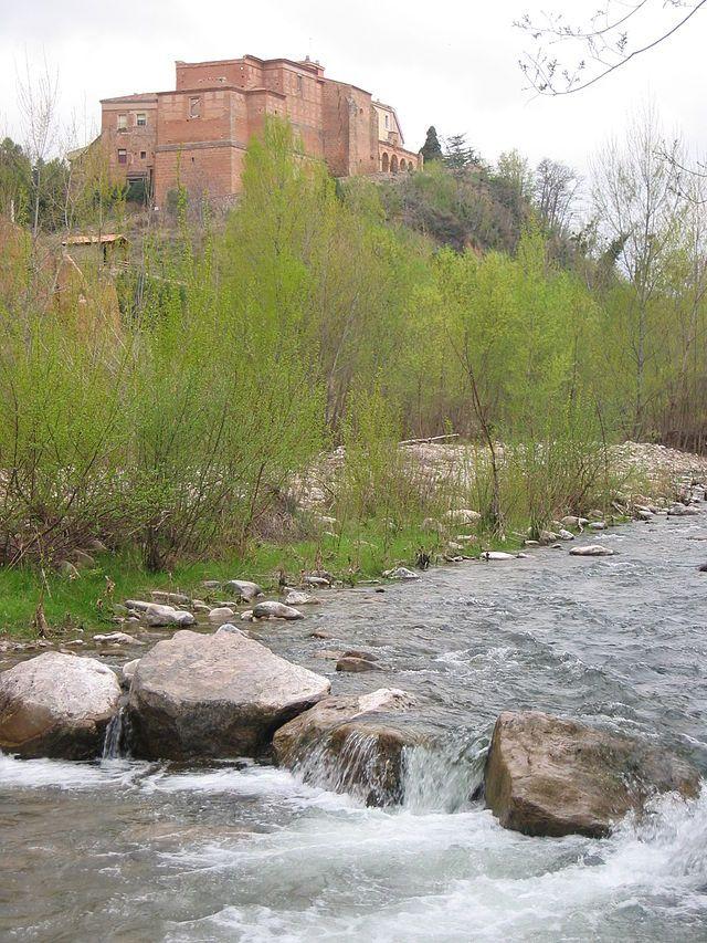Monasterio-de-Vico-over-River-Cidacos - Arnedo -