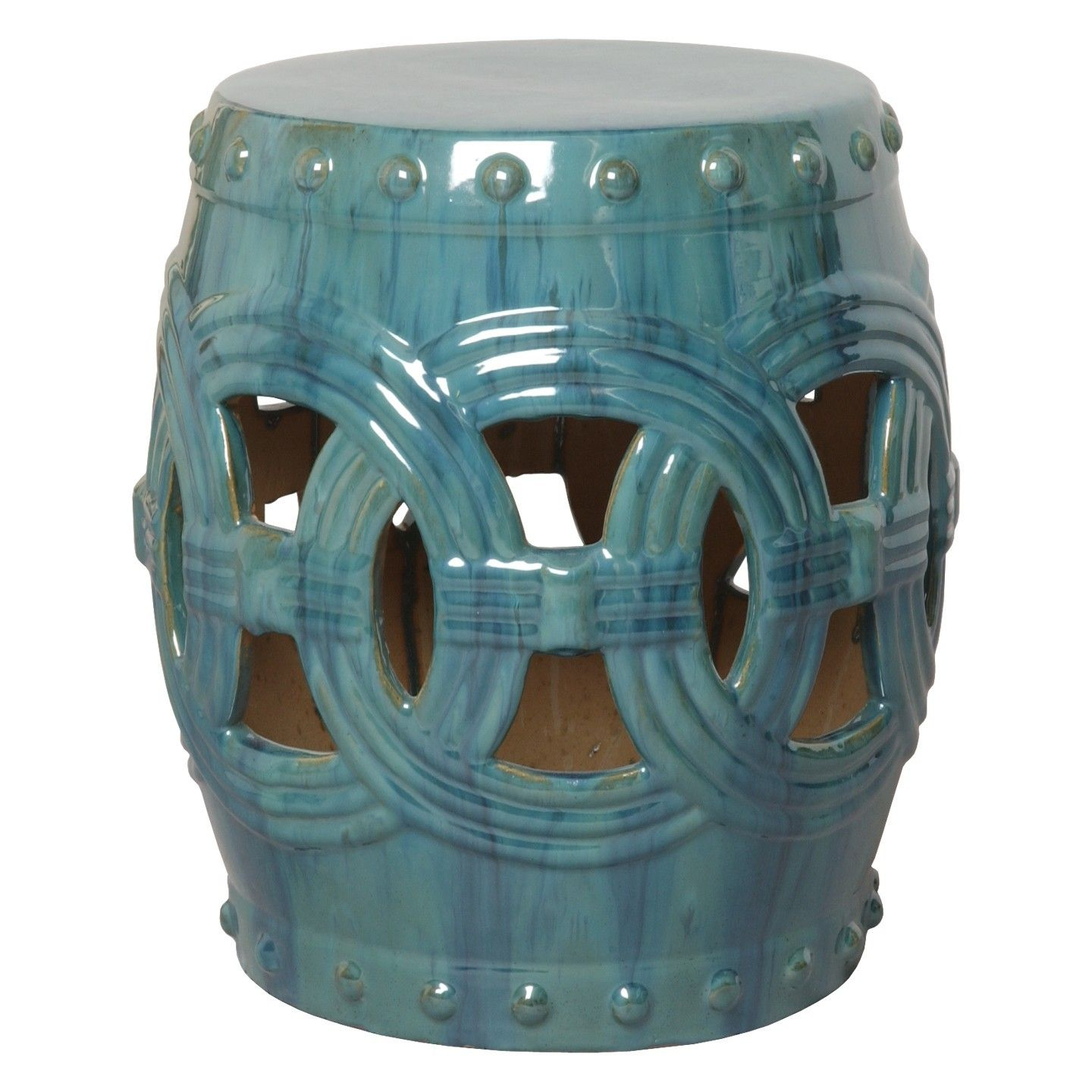 garden light at safavieh stool barrel aqua in stools com pd shop ceramic lowes