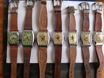 Roy Rogers and Dale Evans Wrist watches 1948-55