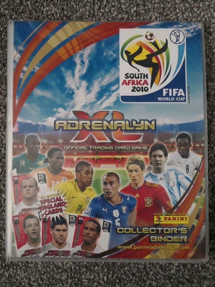 Panini Adrenalyn XL Trading Card Game FIFA World Cup 2010