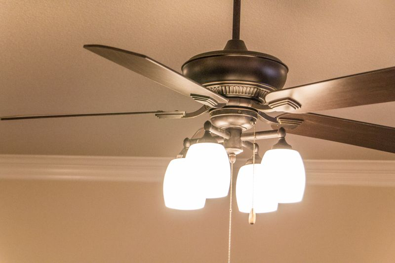 Ceiling Fan in Family Room Move-In Ready Home - North Richland