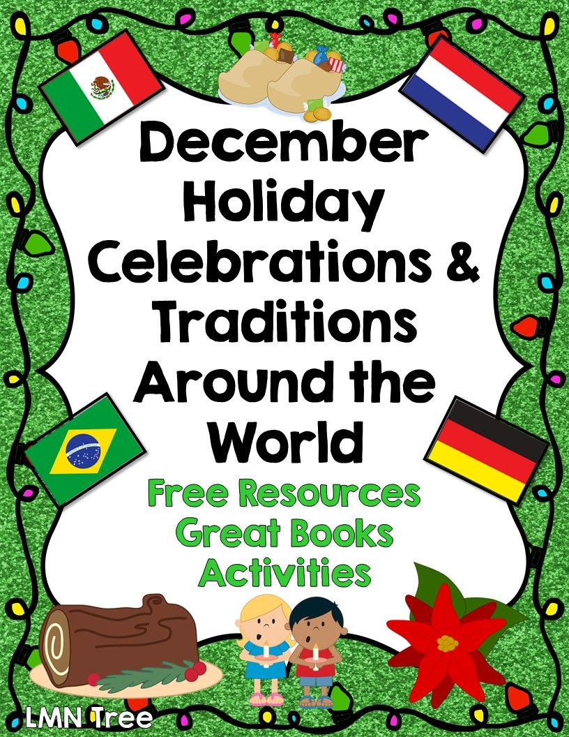 december traditions around the world
