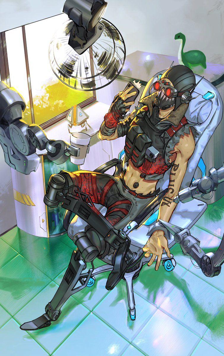 genta 🎮🎨 on in 2020 Apex design, Anime, Cyberpunk