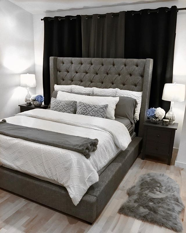 Sorinella Queen Upholstered Bed By Ashley Homestore Gray Bedroom Decor Bedroom Diy Bedroom