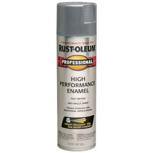 Rust Oleum Professional 15 Oz High Performance Enamel Gloss Stainless Steel Spray Paint 6 Pack 7519838 The Home Depot Stainless Steel Spray Paint Rustoleum Enamel Spray Paint