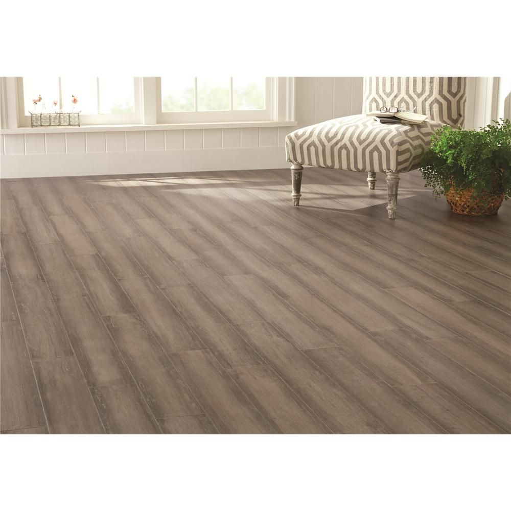 Home Decorators Collection Handscraped Strand Woven Light Taupe 3 8 In T X 5 1 8 In W X 36 In L Click Bamboo Floo Bamboo Flooring Taupe Flooring Flooring
