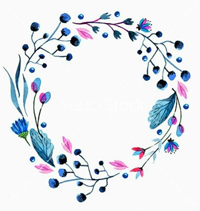 Discover Ideas About Watercolor Flower Wreath