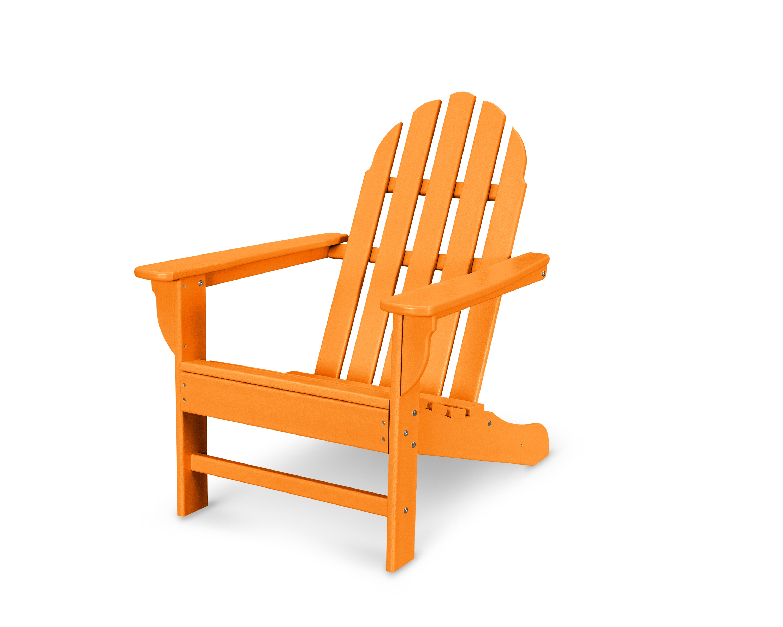 Polywood Emerson Adirondack Chair Tangerine Adirondack Chairs Patio Trex Outdoor Furniture Adirondack Chair