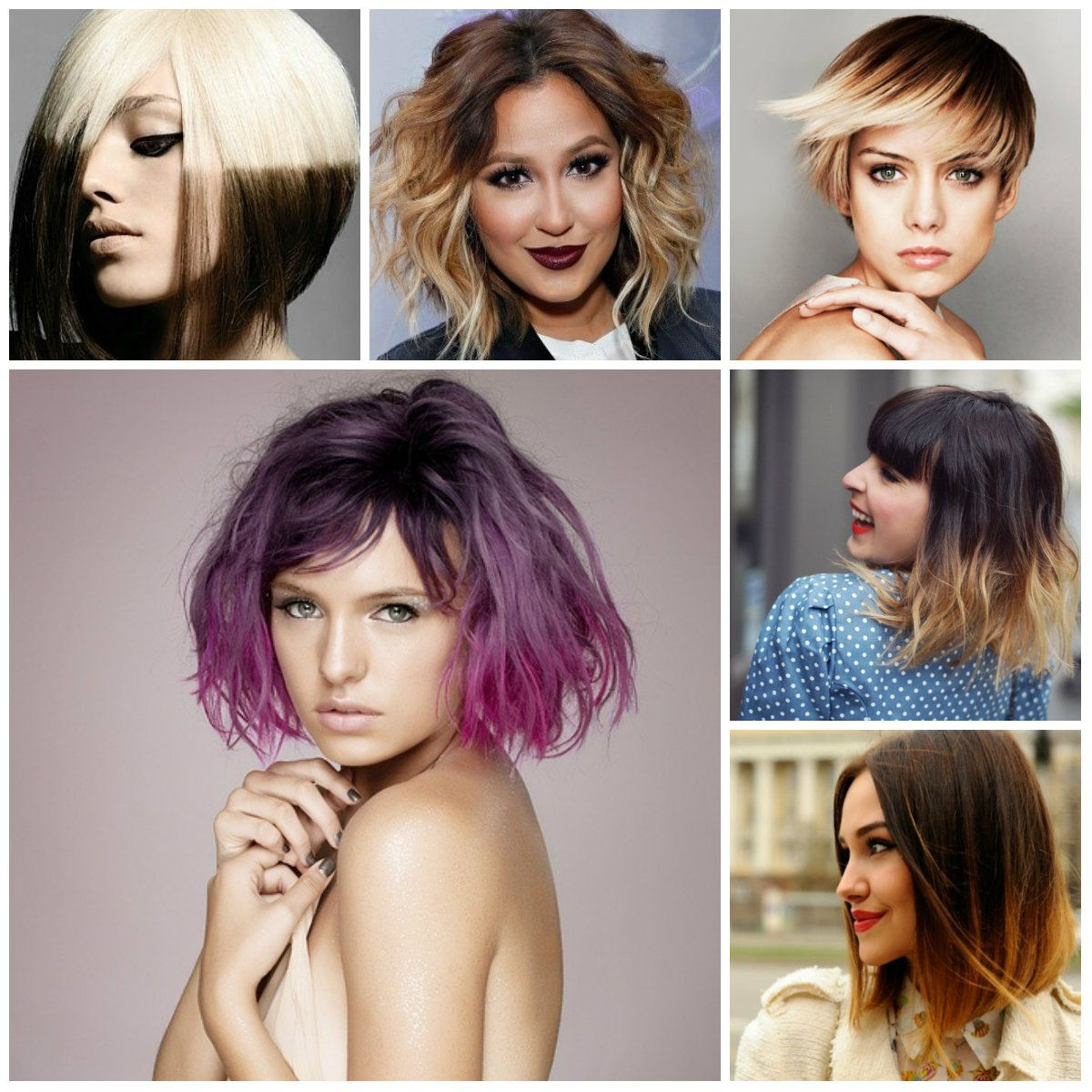 Short Ombre Hairstyles For 2017 Frizure Pinterest Short Ombre