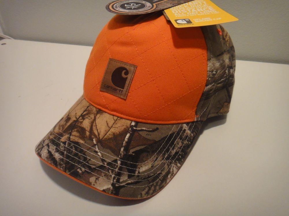 Carhartt   Realtree Xtra Upland Quilted Cap Quick Duck Camo   Orange  RN14806  Carhartt  uplandquiltedcap cbb0229836ee
