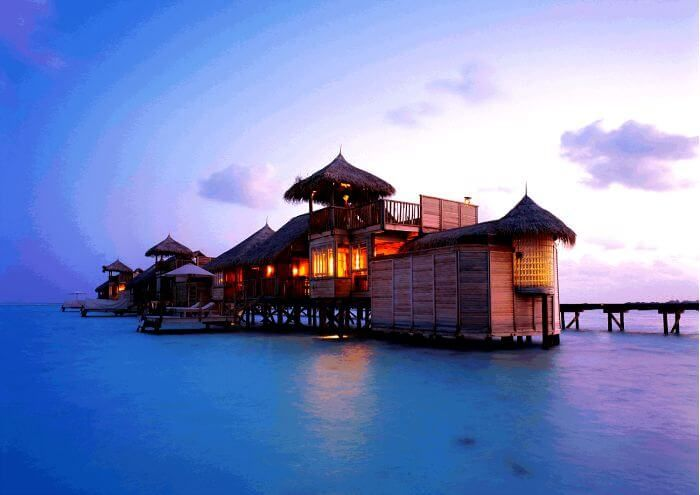 7 Sexiest Water Villas In Bali For A Hidden Paradise Getaway With Your Love Water Bungalow Overwater Bungalows Water Villa
