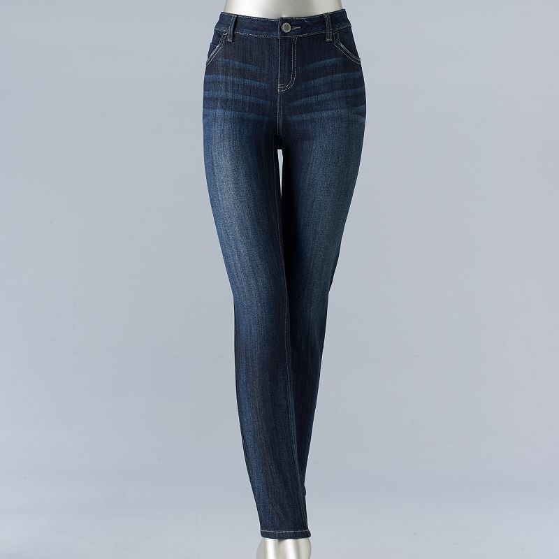 Size 0 long skinny jeans
