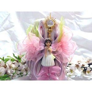 Velas decoradas para comuniones, son regalos originales para quedar muy bien.