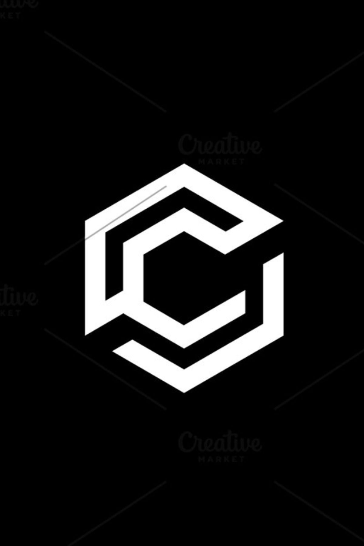 Abstract Letter C Vector Logo Icon Letter Logo Design Logo Design Typography Geometric Logo Design