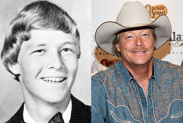 Alan Jackson With Images Alan Jackson Celebrities Then And