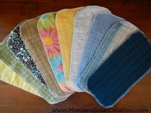Easy Handmade Gift: DIY Cloth Napkins and Un-Paper Towels