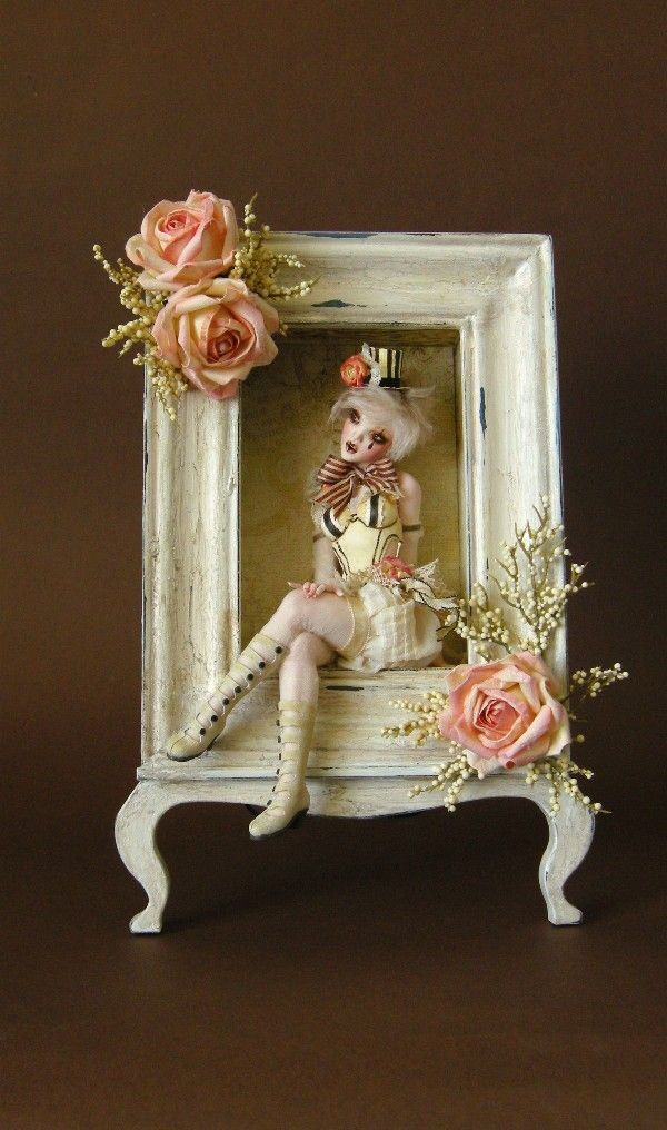 GYPSY ROSE - A Victorian shabby chic style Burlesque girl ooak by ...