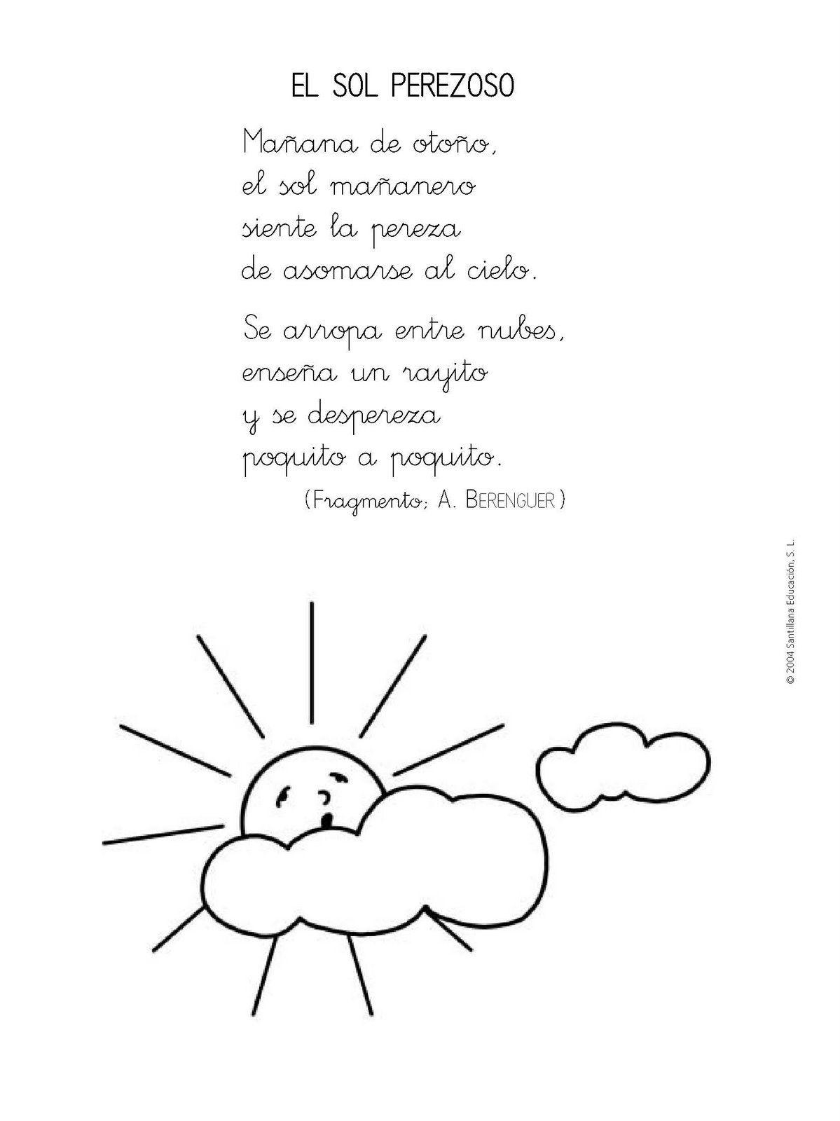 El Sol Perezoso Spanish Reading Homeschool Spanish Bilingual Education