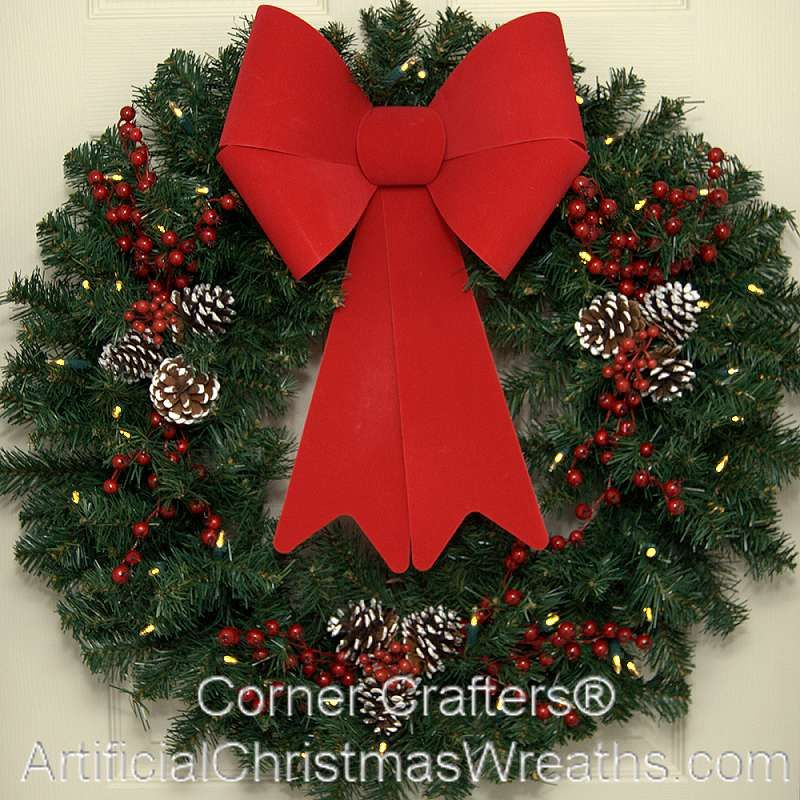 10 Foot (120 inch) Christmas Wreath | Large christmas wreath and ...
