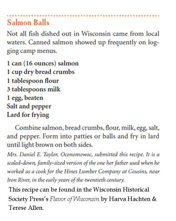 Salmon Ball recipe from Flavor of #Wisconsin #foodie