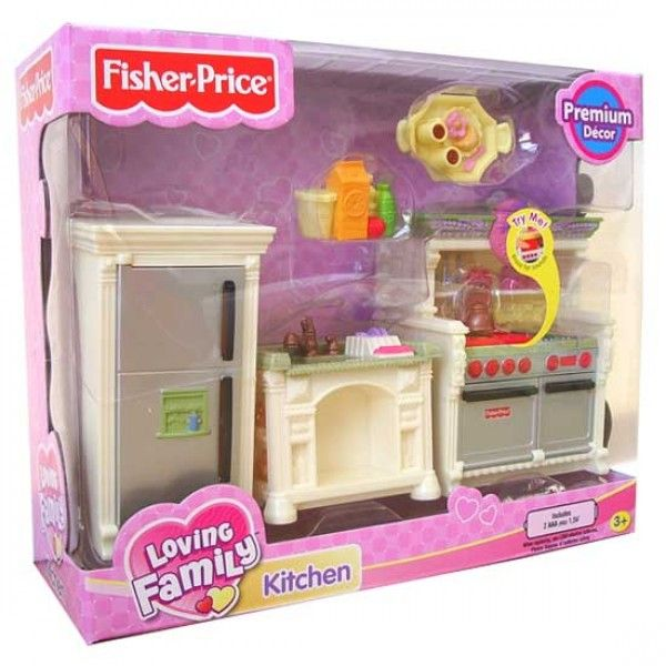 Fisher Price Loving Family Kitchen: Loving Family Dollhouse, Doll