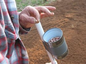 Build A Hand Held Corn And Bean Planter Seed Planter 400 x 300