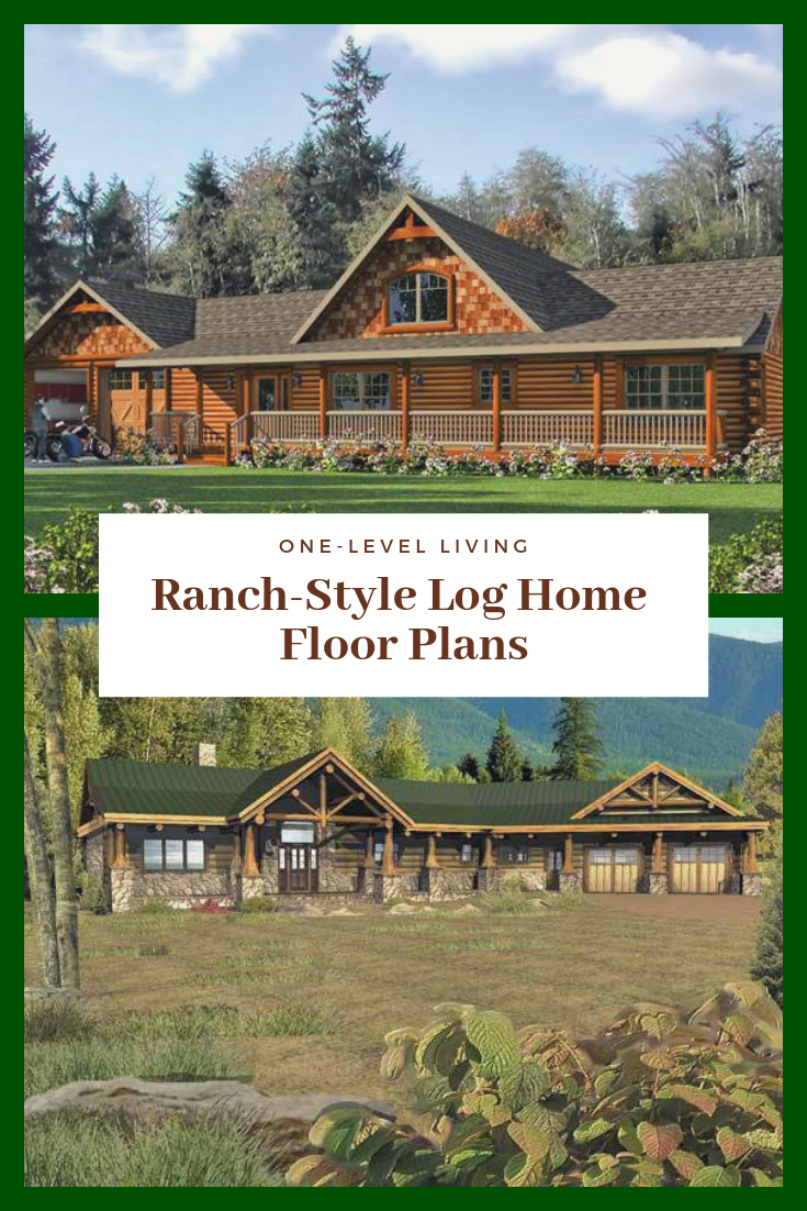 Ranch House Plans Log Home Floor Plans House Plans Ranch House
